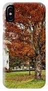 October Skies IPhone Case