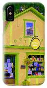 Octopus Bookstore 3rd Ave Bank Street Nepean The Glebe Paintings Of Ottawa Carole Spandau  IPhone Case