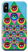 Oculi Omnium IPhone Case