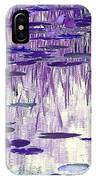 Ode To Monet In Purple IPhone Case