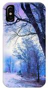 Of Dreams And Winter IPhone Case