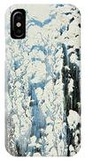 Of Snow And Clouds IPhone Case