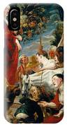 Offering To Ceres Goddess Of Harvest IPhone Case