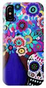 Ofrenda De Flores IPhone Case