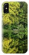 Ogle Lake Reflections 2 IPhone Case
