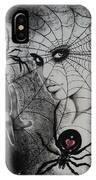 Oh What Tangled Webs We Weave IPhone Case