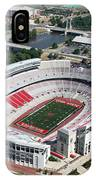 Ohio Stadium Aerial IPhone Case