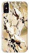 Oil Painting - A Cross Link Fence IPhone Case