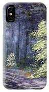 Oil Painting - Forest Light IPhone Case