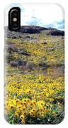 Okanagan Valley Sunflowers 1 IPhone Case
