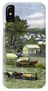 Oklahoma City, 1889 IPhone Case