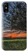 Oklahoma Sunset IPhone Case