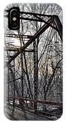 Ol' Iron Bridge Of Dark Hallow IPhone Case