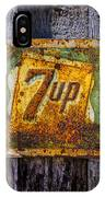 Old 7 Up Sign IPhone Case