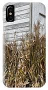 Old Barn And Cornstalks IPhone Case