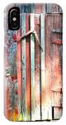Old Barn Door 2 IPhone Case