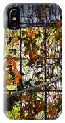 Old Barn Window Vines IPhone Case