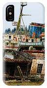 Old B.c. Rusted Ferry IPhone Case