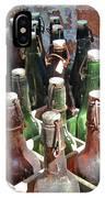 Old Beer Bottles IPhone Case