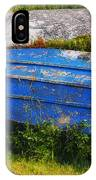 Old Blue Boat IPhone Case