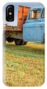 Old Blue Farm Truck IPhone Case