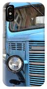 Old Blue Jalopy Truck IPhone Case