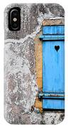 Old Blue Shutters IPhone Case