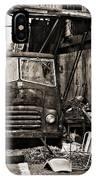 old BMC diesel IPhone Case