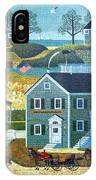 Old Boston Puzzle IPhone Case