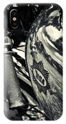 Old Bsa Cafe Racer IPhone Case