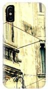 Old Building Facade IPhone Case