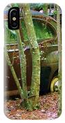 Old Car In The Woods IPhone Case