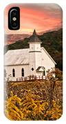 Old Carmel Ohio Church IPhone Case