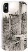 Old Cattle Ramp IPhone Case