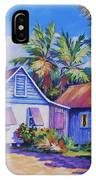 Old Cayman Cottages IPhone X Case