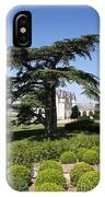 Old Cedar At Chateau Amboise IPhone Case