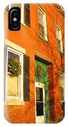 Old Charestown Neighborhood IPhone Case
