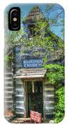 Old Church In The Woods IPhone Case
