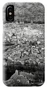 Old City Of Toledo Bw IPhone Case