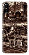 Old Climax Engine No 4 IPhone Case
