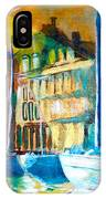 Old Copenhagen Thru Stained Glass IPhone Case