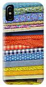 Old Country Store Fabrics IPhone Case