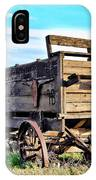 Old Covered Wagon IPhone Case