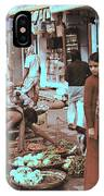 Old Delhi 1978 IPhone Case
