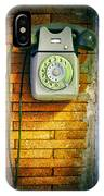 Old Dial Phone IPhone Case