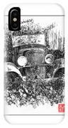 Old Dodge Truck V IPhone Case