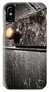 Old Door Lock IPhone Case