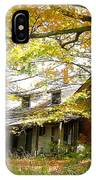 Old Farm House Behind Color IPhone Case