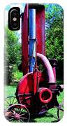 Old Farm Machinery IPhone Case