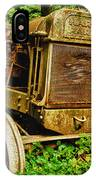 Old Farm Tractor IPhone Case
